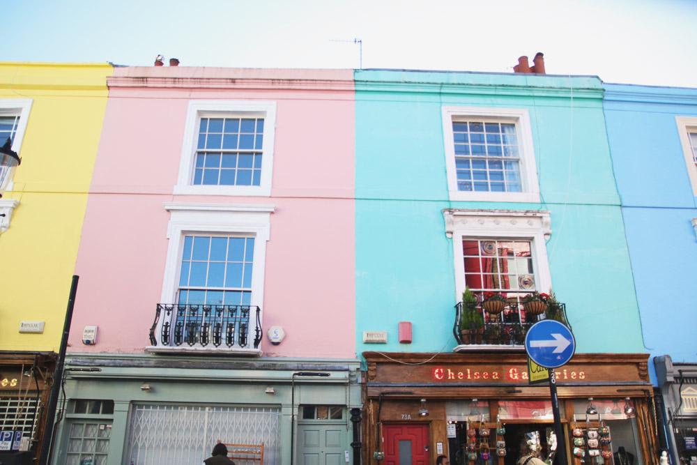 Portobello Road, Notting Hill, London