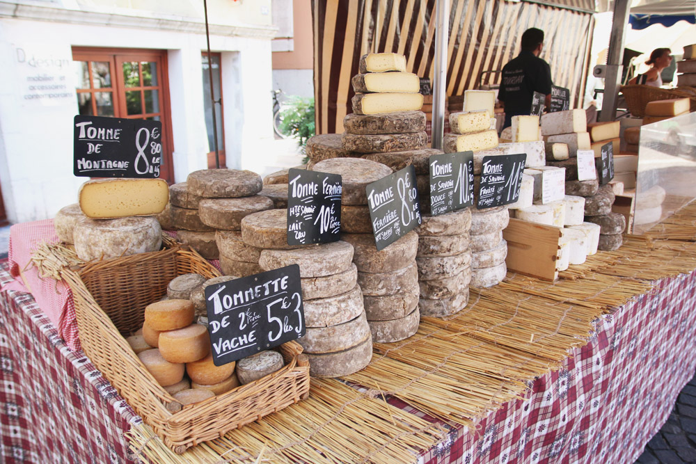 Read Wandering Through Annecy's Farmers Market by April
