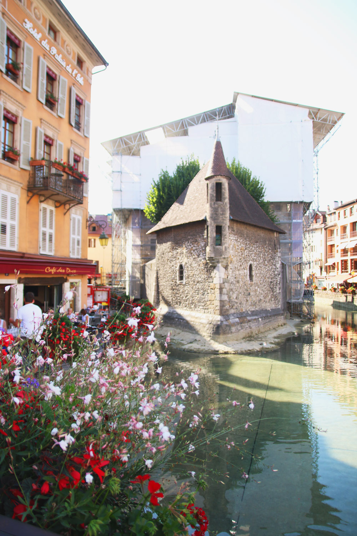 Palais de I'lle, Annecy Old Town, France