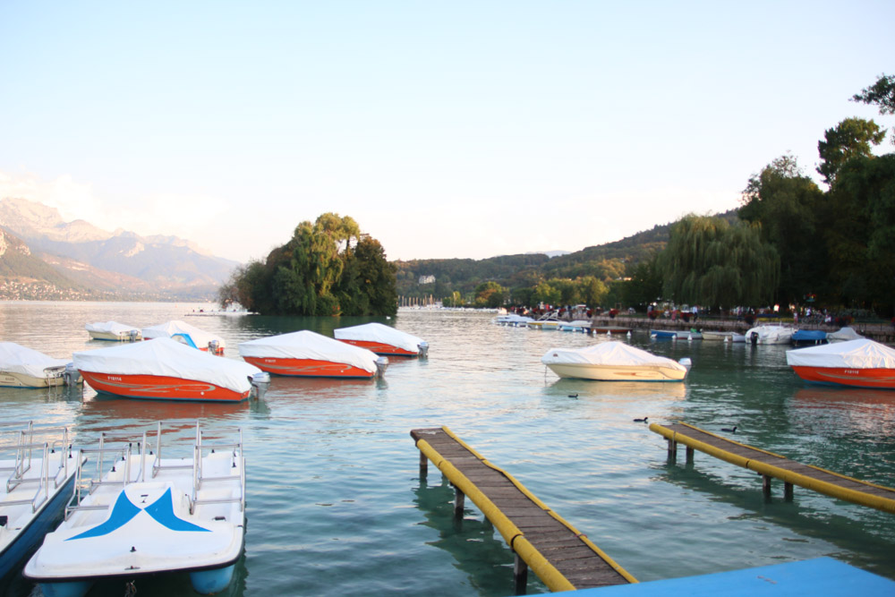 Read Lake Annecy & Pont des Amours by April