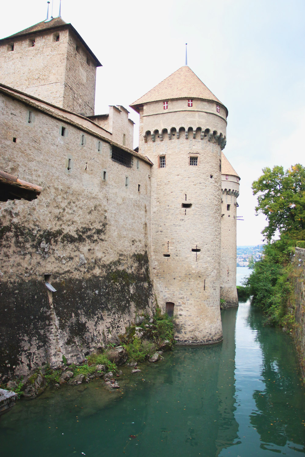 Chateau de Chillon, Lake Geneva - Switzerland