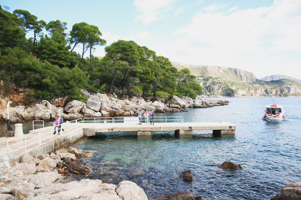 Read A Day on Lokrum Island by April