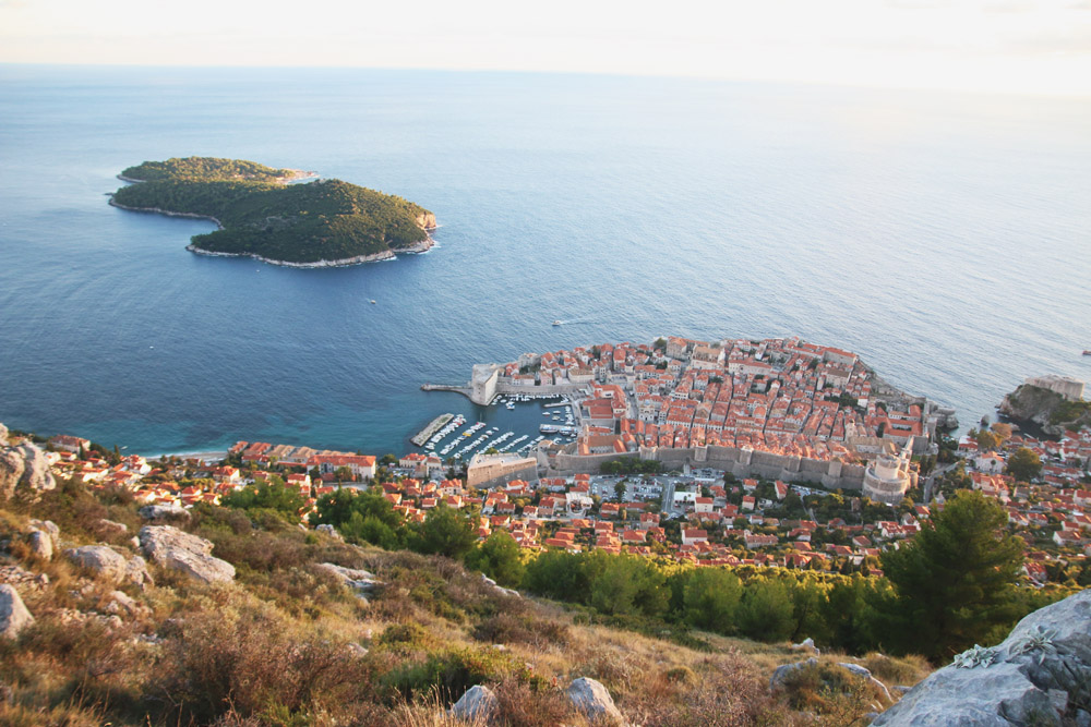 Read Sunset on Mount Srd, Dubrovnik by April