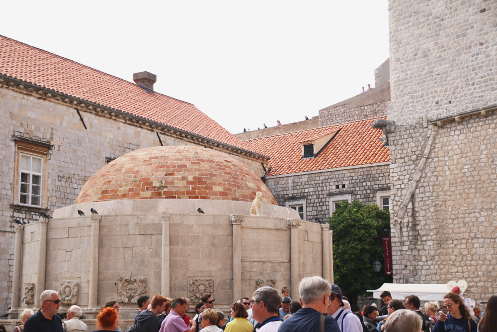 Old City Dubrovnik Fountain