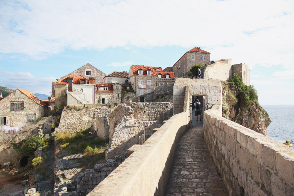 Read Walking Dubrovniks Old City Walls by April
