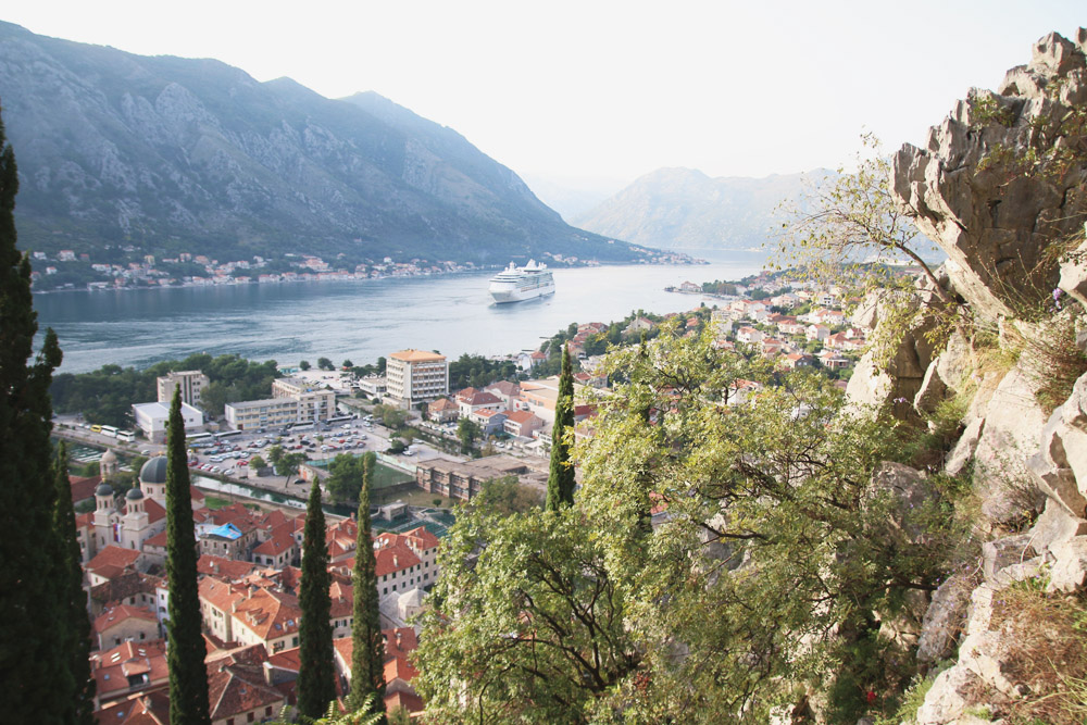 Read Hiking the Old Walls of Kotor for Amazing Views by April