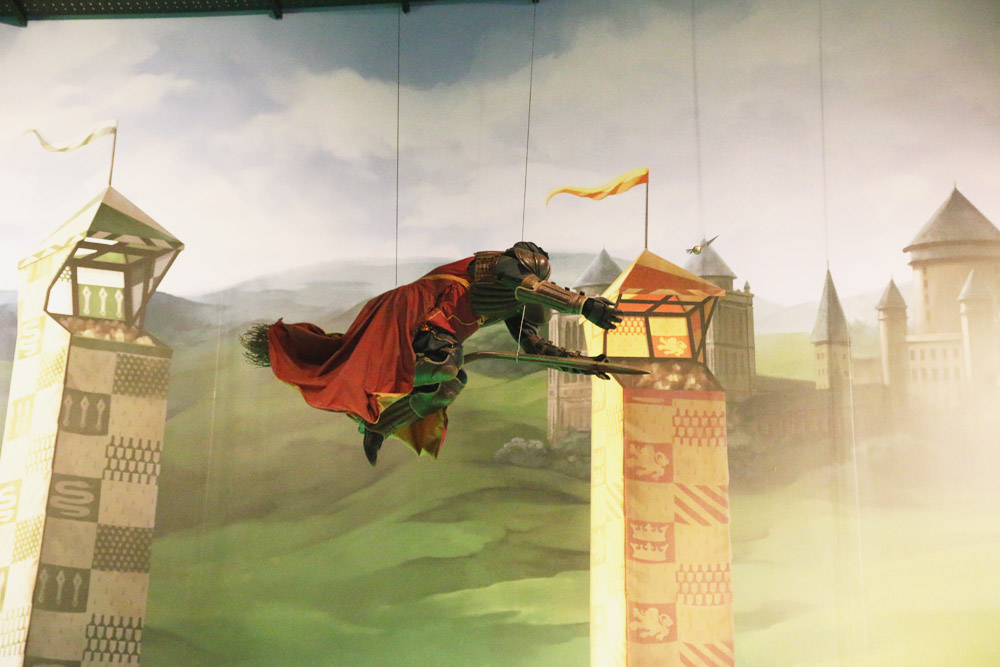 Harry Potter Warner Bros Studio Tour London Quidditch