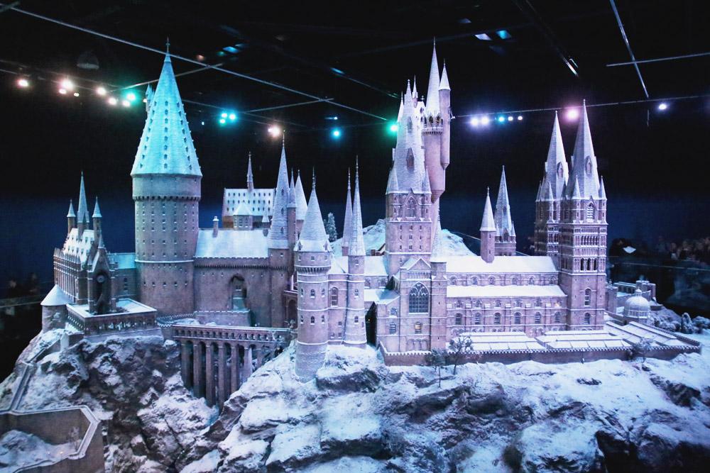Harry Potter Warner Bros Studio Tour London Hogwarts in the Snow Hogwarts Castle