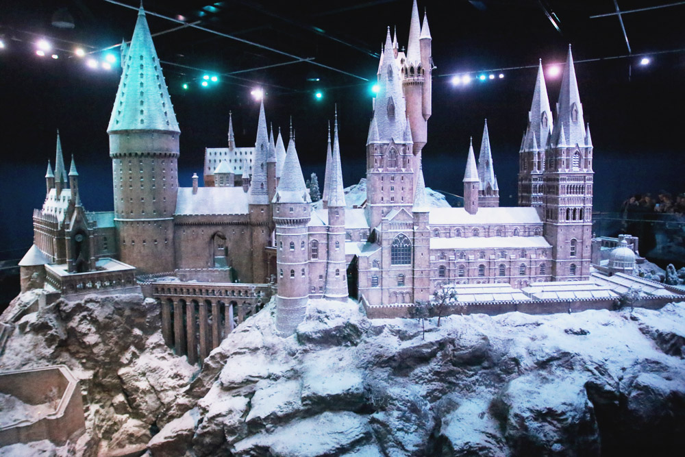 Harry Potter Warner Bros Studio Tour London Hogwarts in the Snow Hogwarts Castle