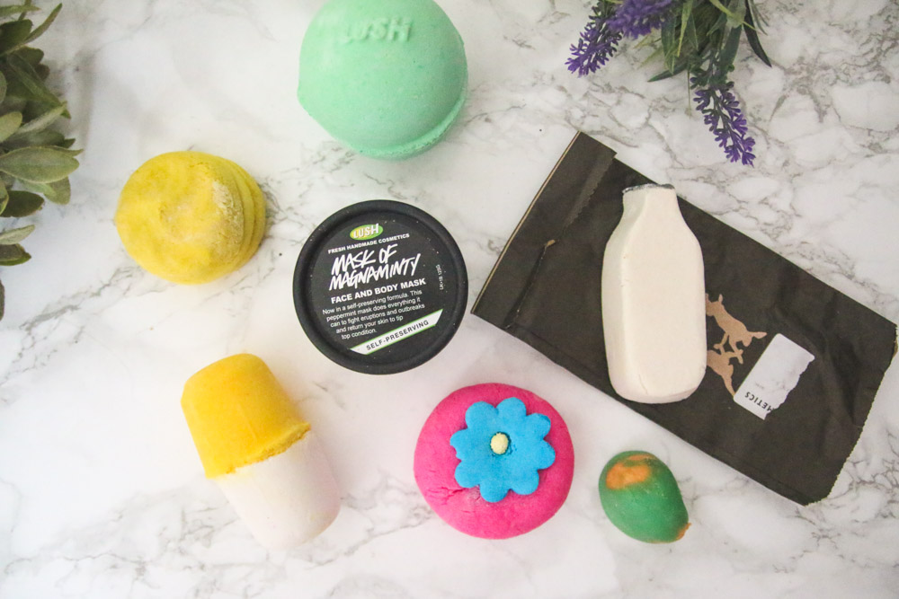 Read My LUSH Bathtime Favourites Haul by April