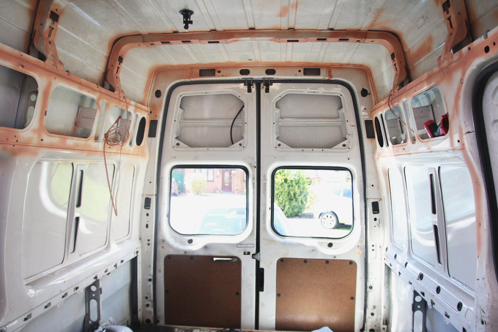 Read A Campervan Conversion Update by April