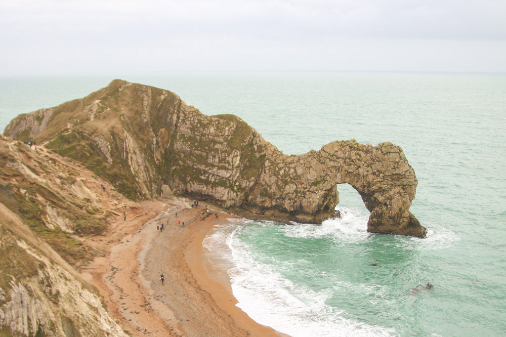 Read Durdle Door & Man of War Beach by April