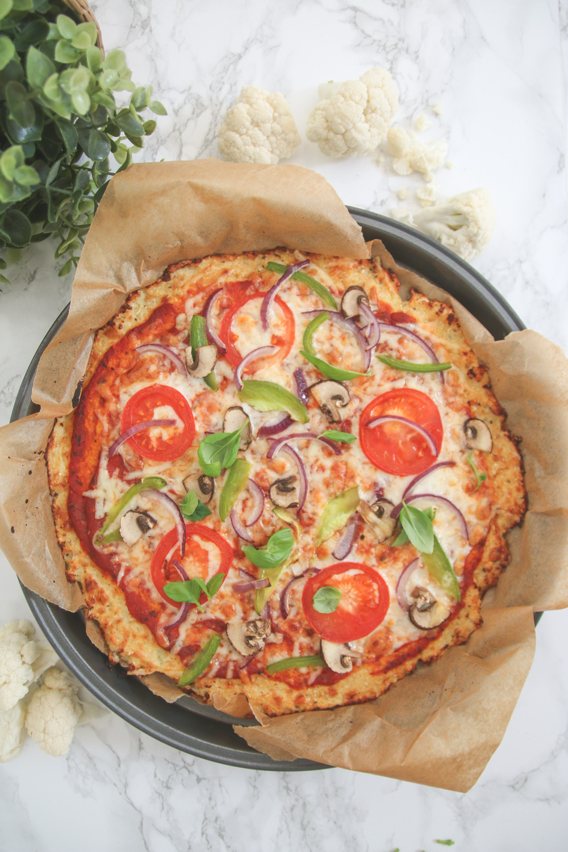 Gluten Free Cauliflower Pizza