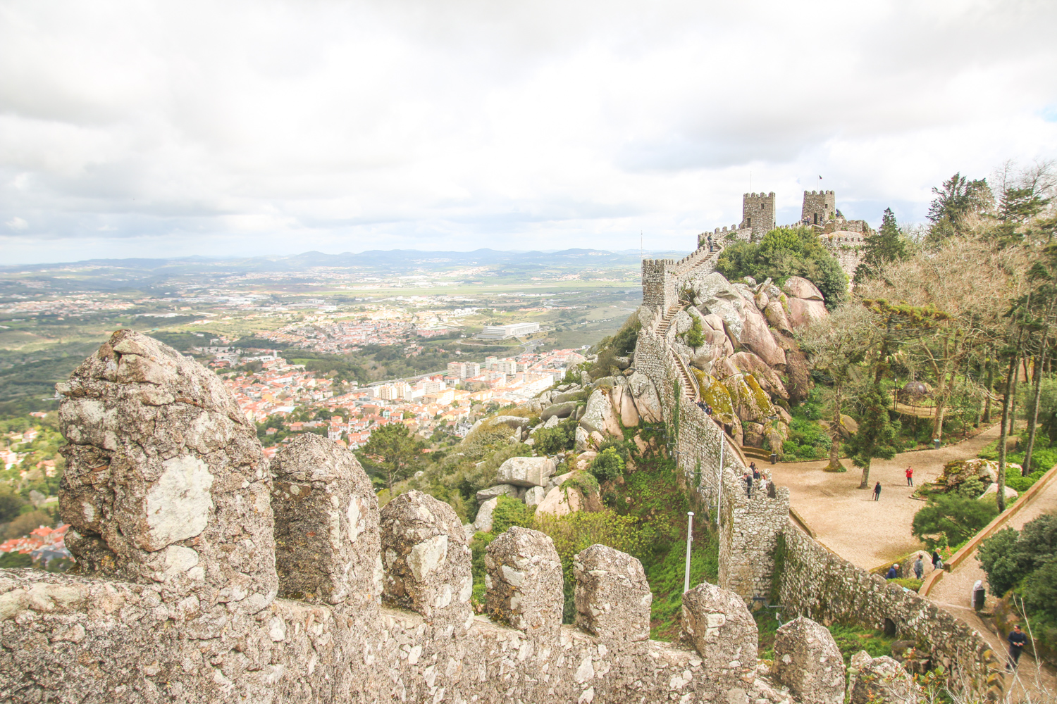 Read Walking the Walls of the Moorish Castle in Sintra by April