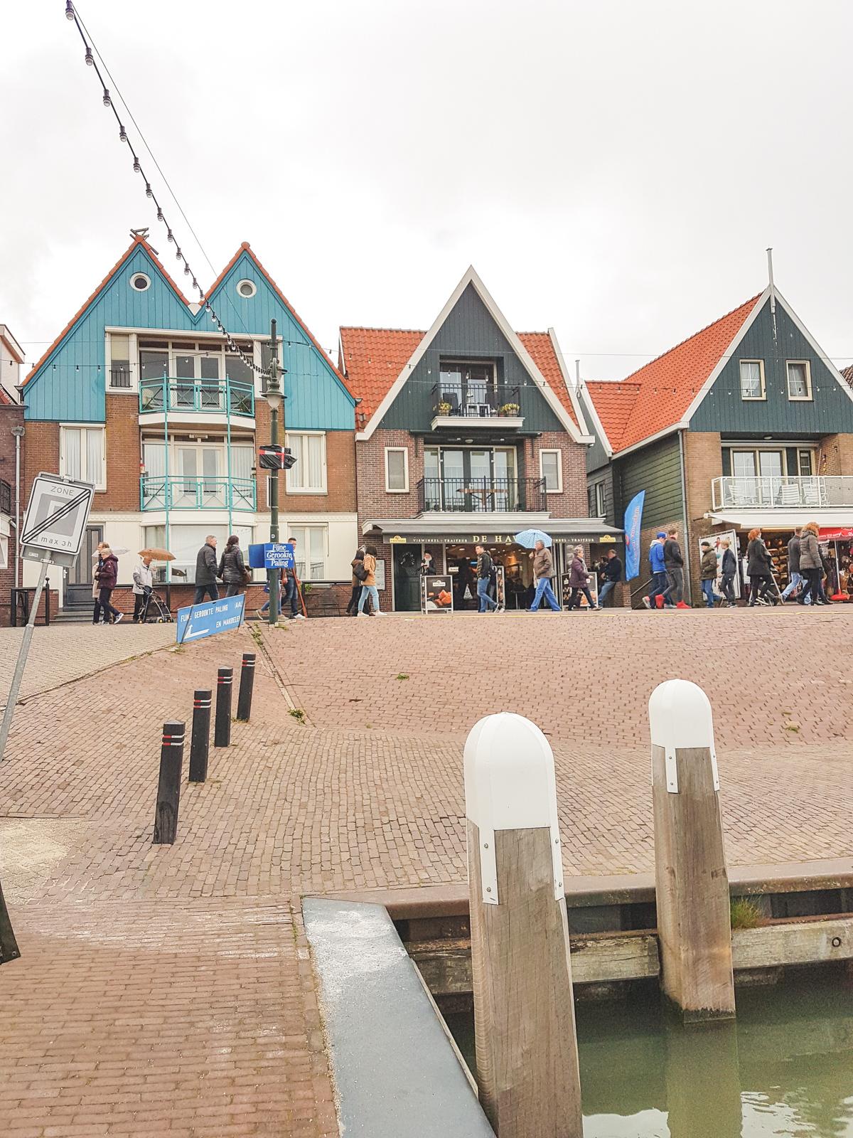 Volendam Harbour, Holland, The Netherlands