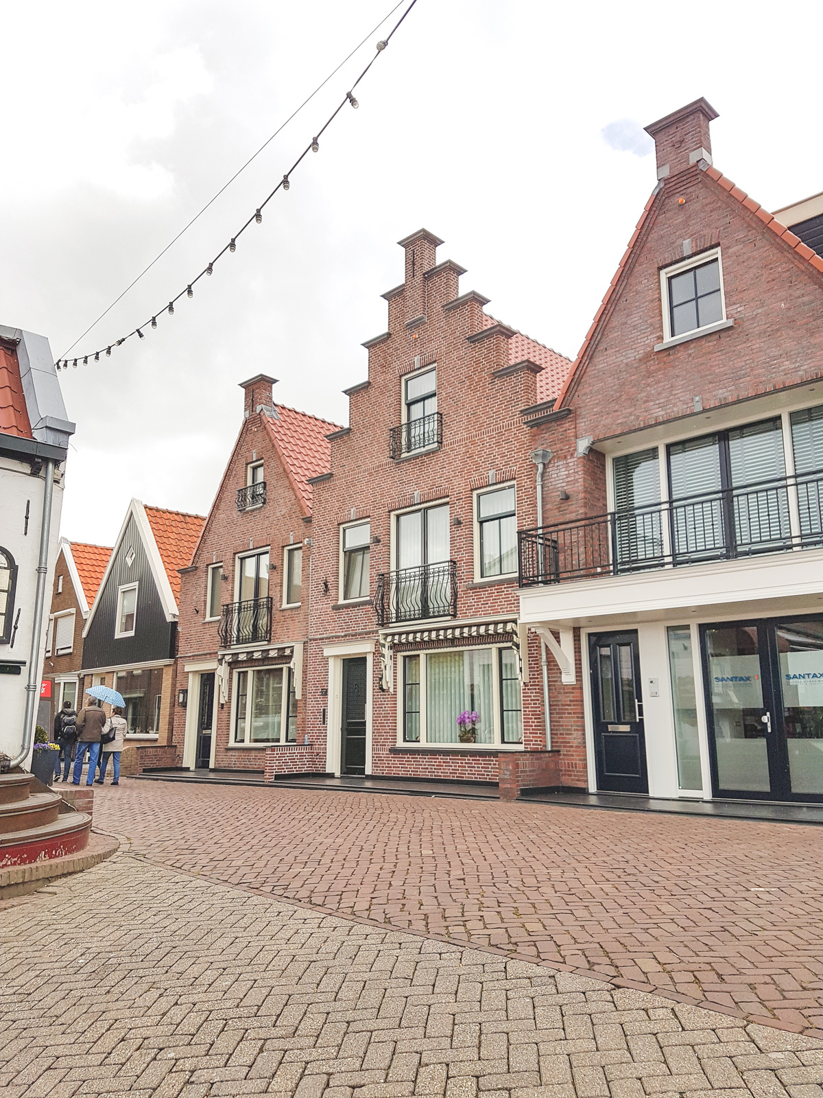 Volendam Harbour, Holland, The Netherlands