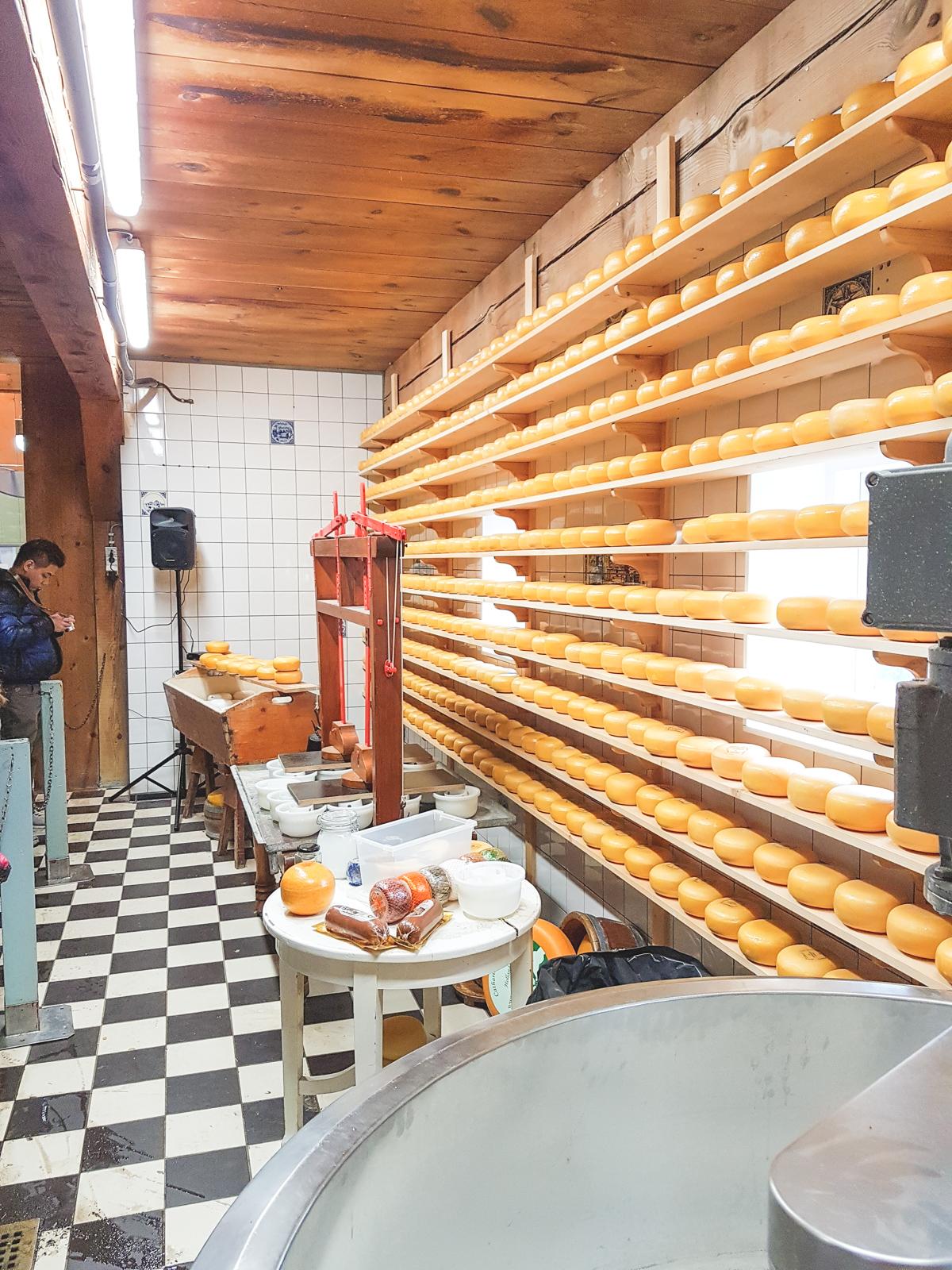 Cheese Factory at Zaanse Schans, Holland, The Netherlands