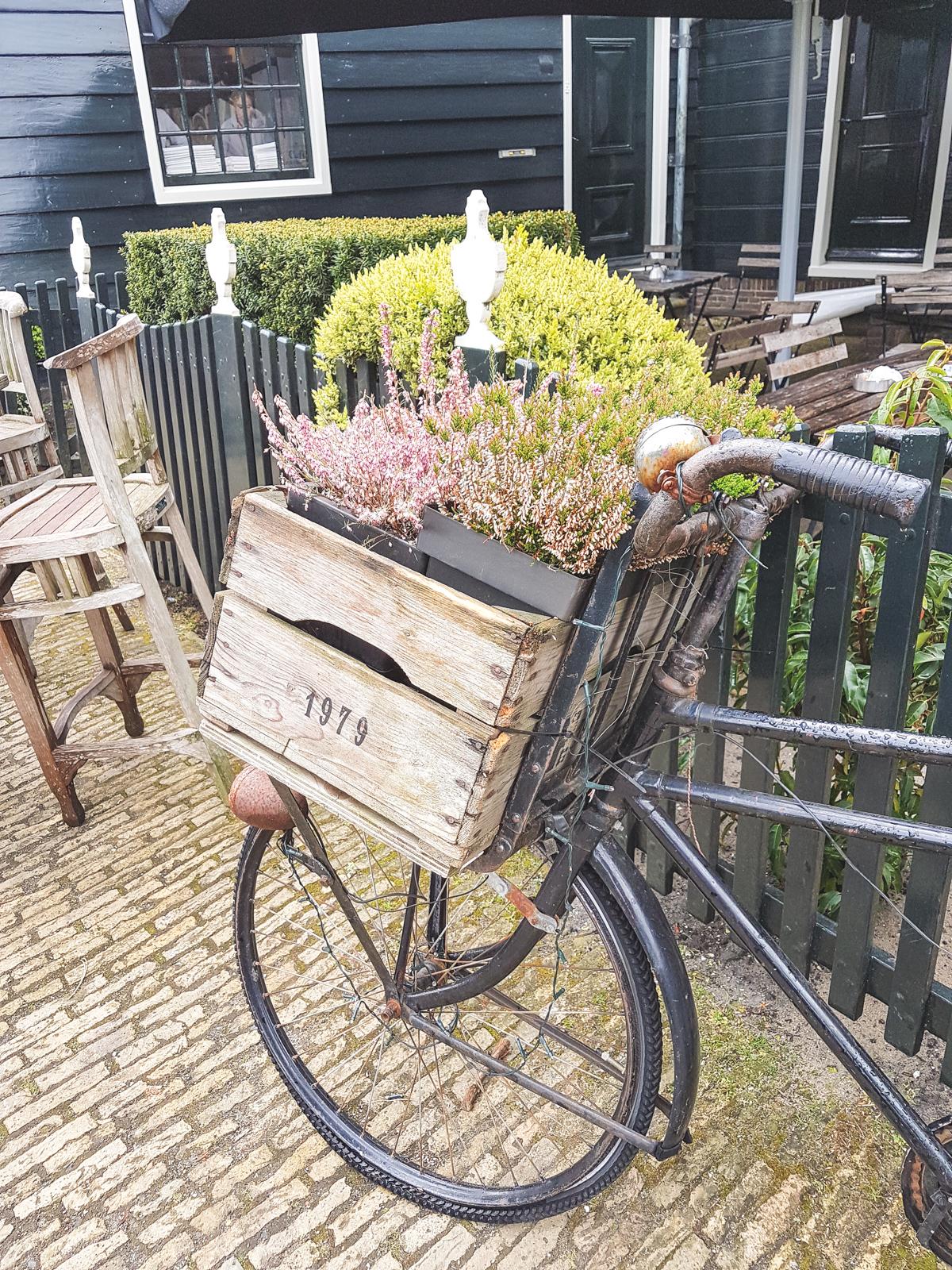 Bike at Zaanse Schans, Holland, The Netherlands