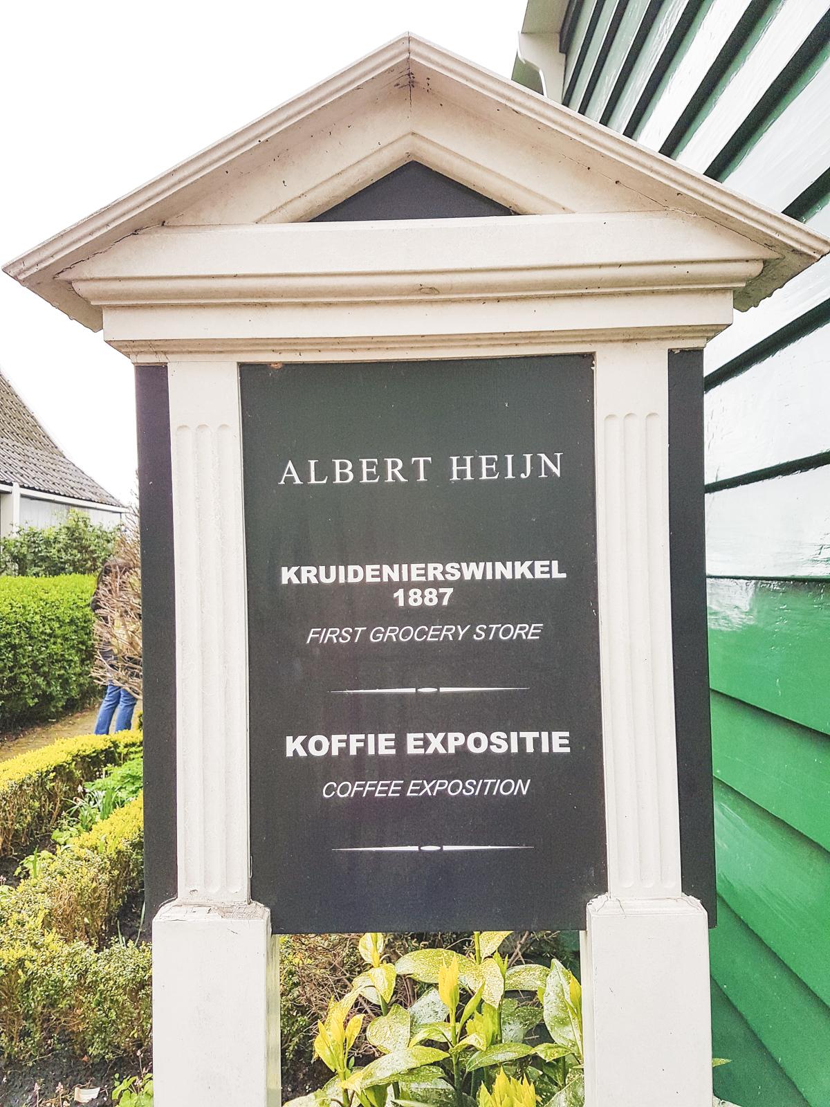 Albert Heijn at Zaanse Schans, Holland, The Netherlands