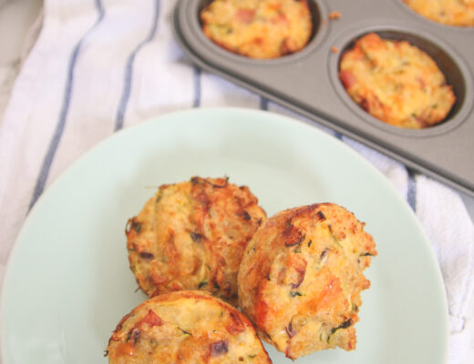 Ham & Cheese Quinoa Muffins