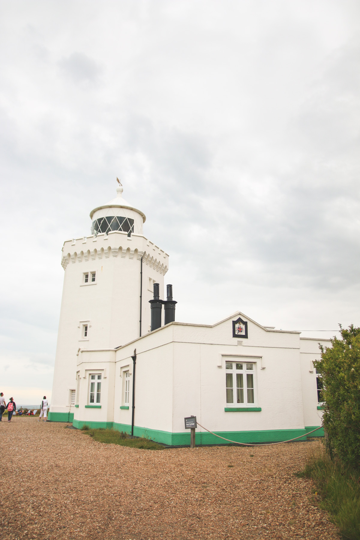 South Foreland Lighthouse at the White Cliffs of Dover