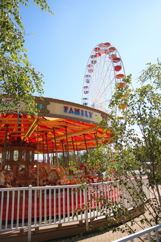 Retro Amusement Park at Dreamland Margate