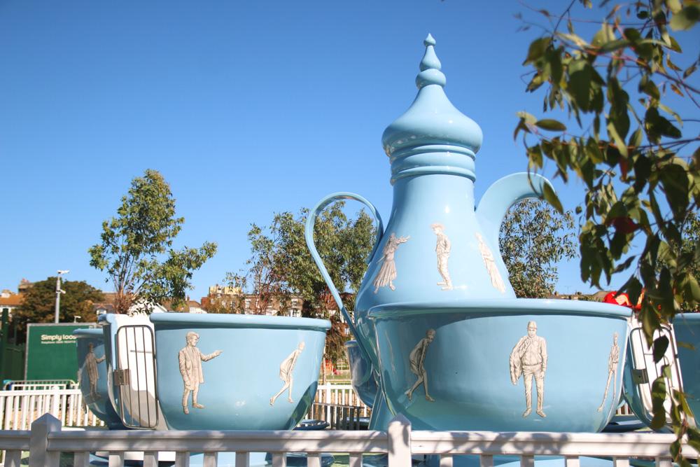 Teacups at Dreamland Margate