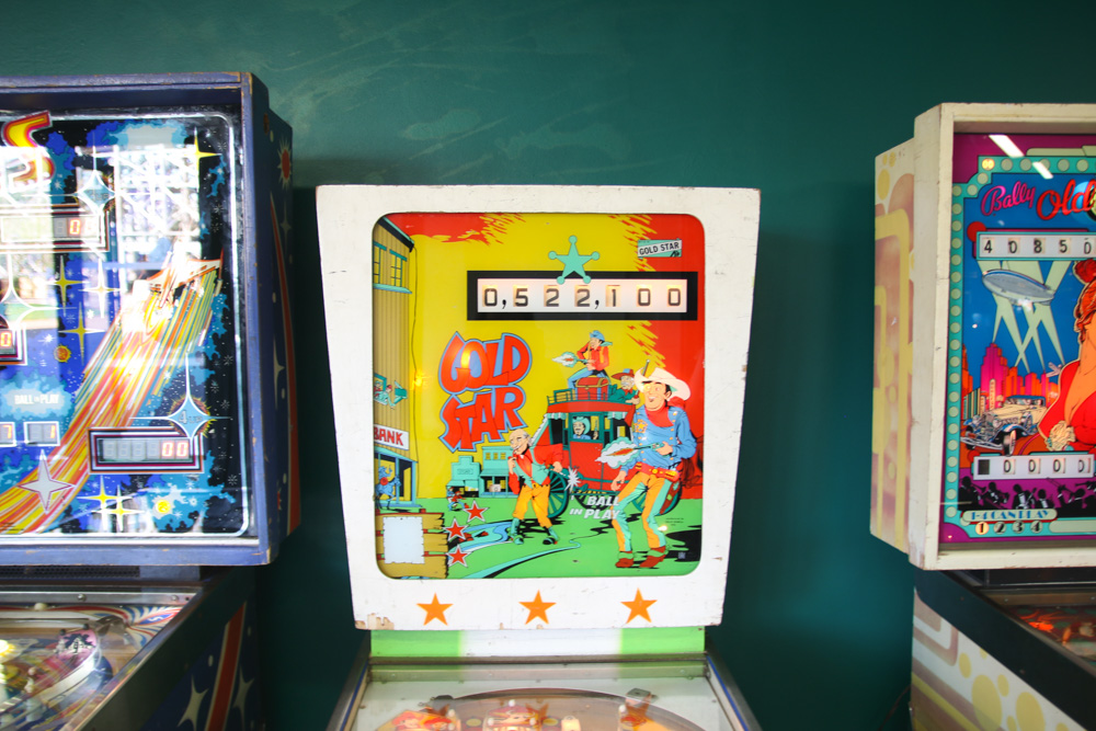 Vintage Pinball at Dreamland Margate