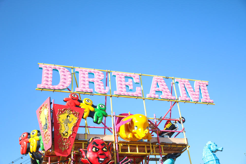 Retro Signs at Dreamland Margate