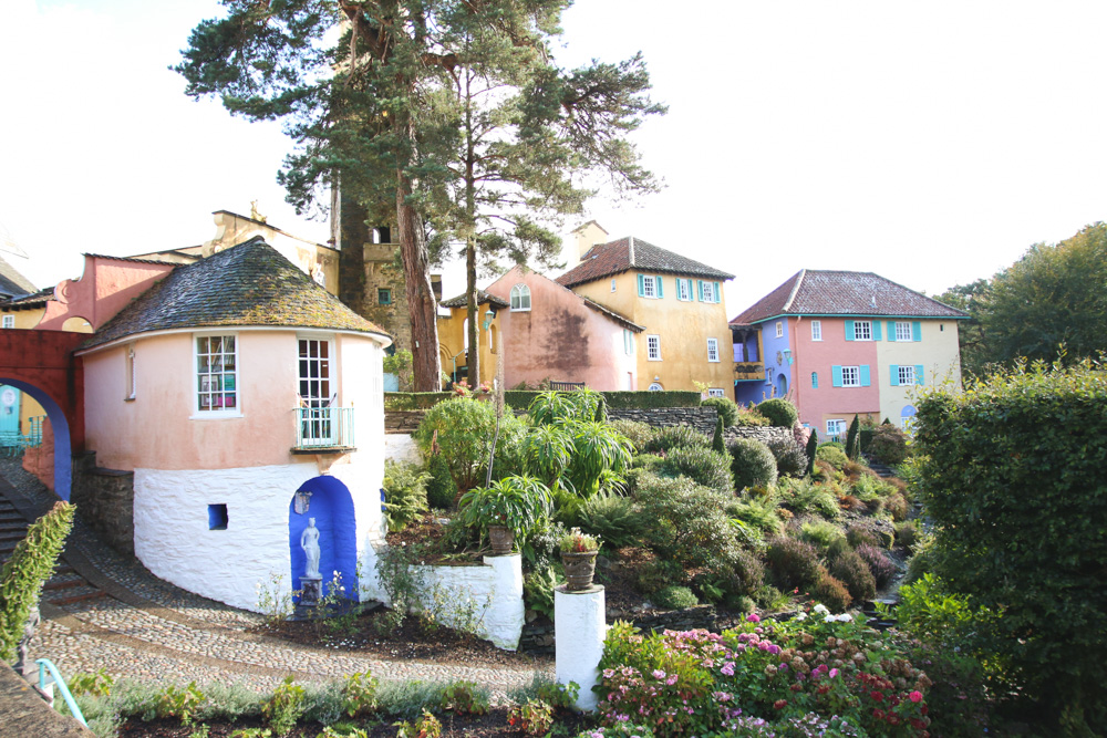 Portmeirion Building, North Wales