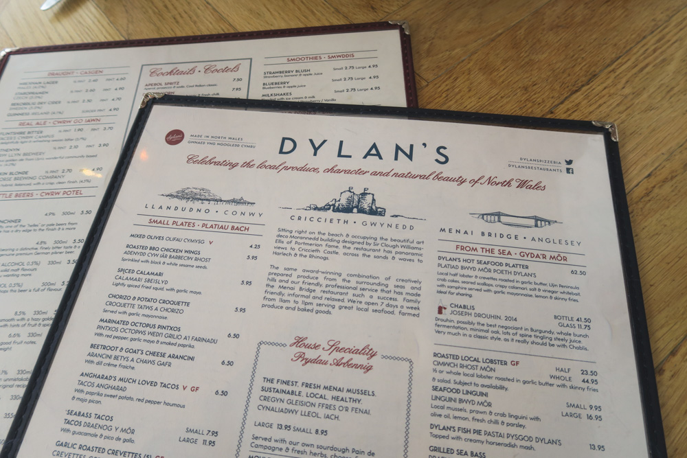Dylan's Restaurant, Wales