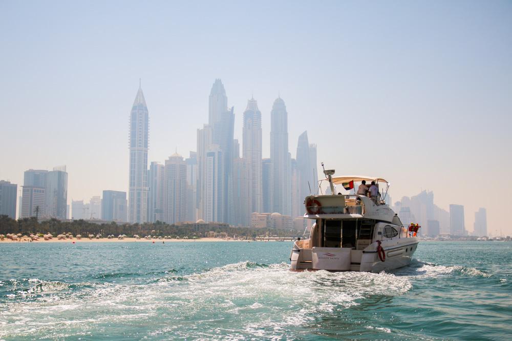 Boat Trip around The Palm Dubai
