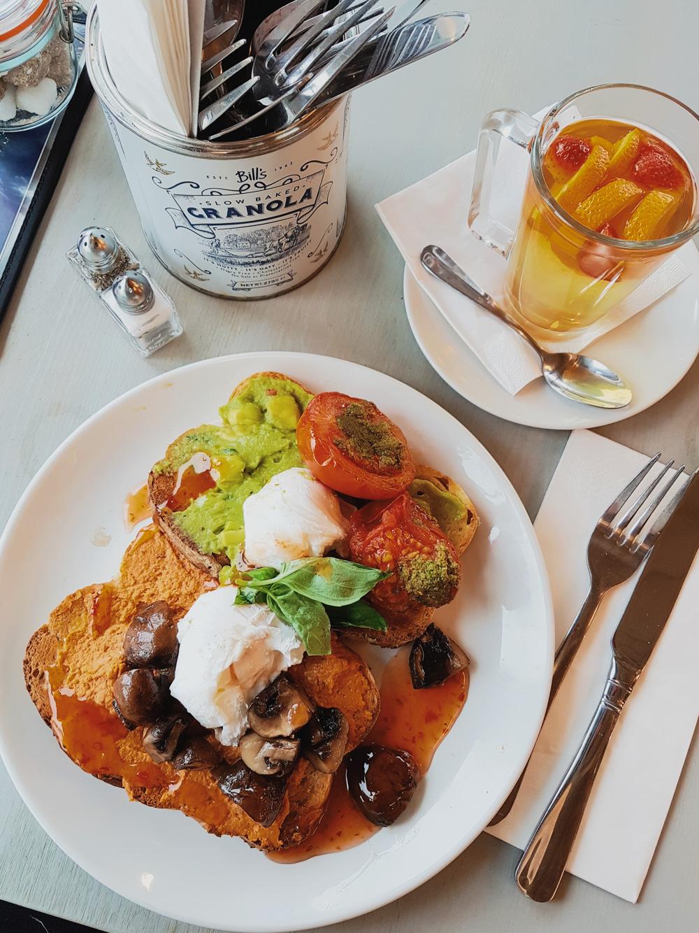 Bills Vegetarian Breakfast