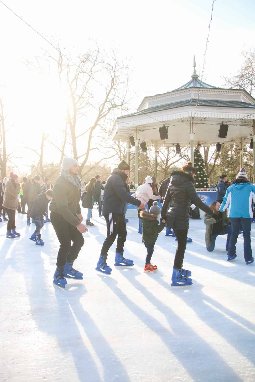 Winter Wonderland London Ice Skating Ring