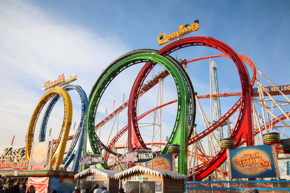 Winter Wonderland London Rollercoaster