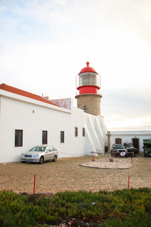Lighthouse at Cabo St Vincent, The Algarve