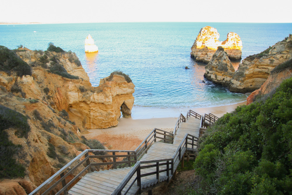Camilo Beach Stairs, Algarve