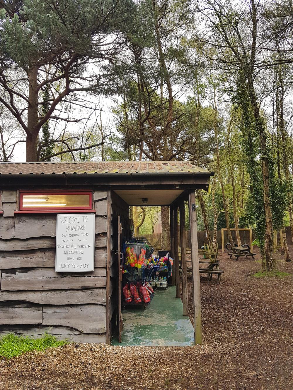 Dorset Campsite