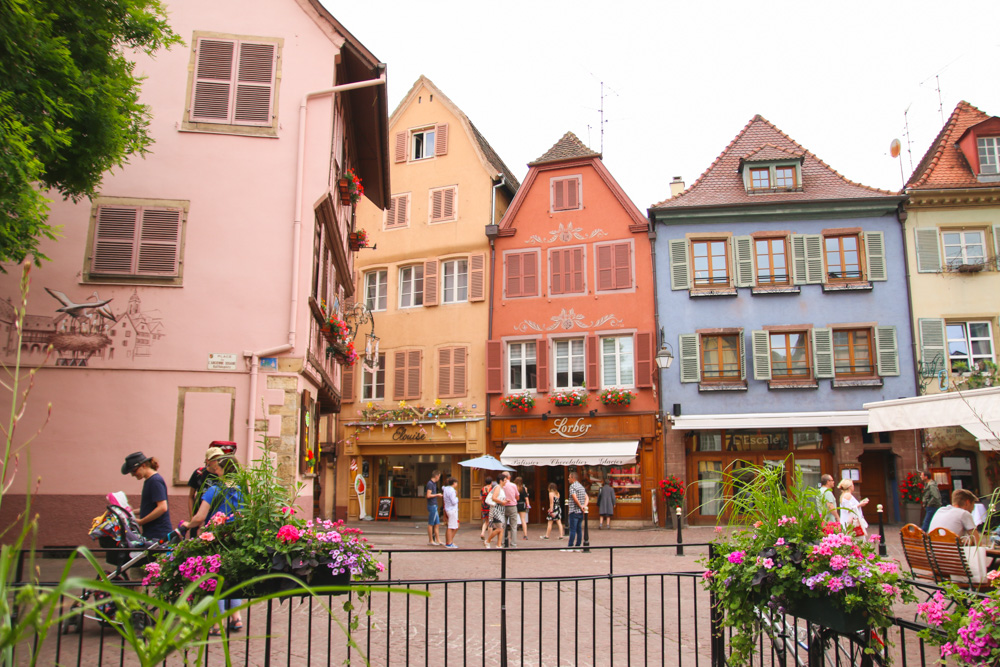 Colourful Buildings in Colmar