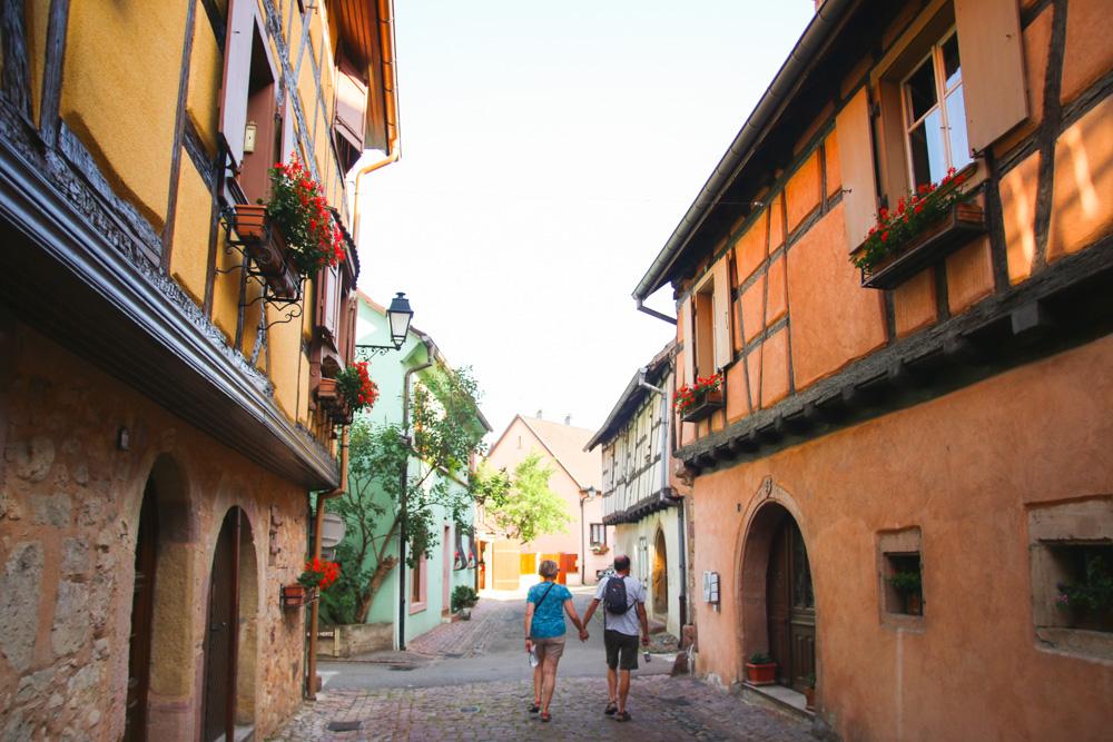 Eguisheim near Colmar in France