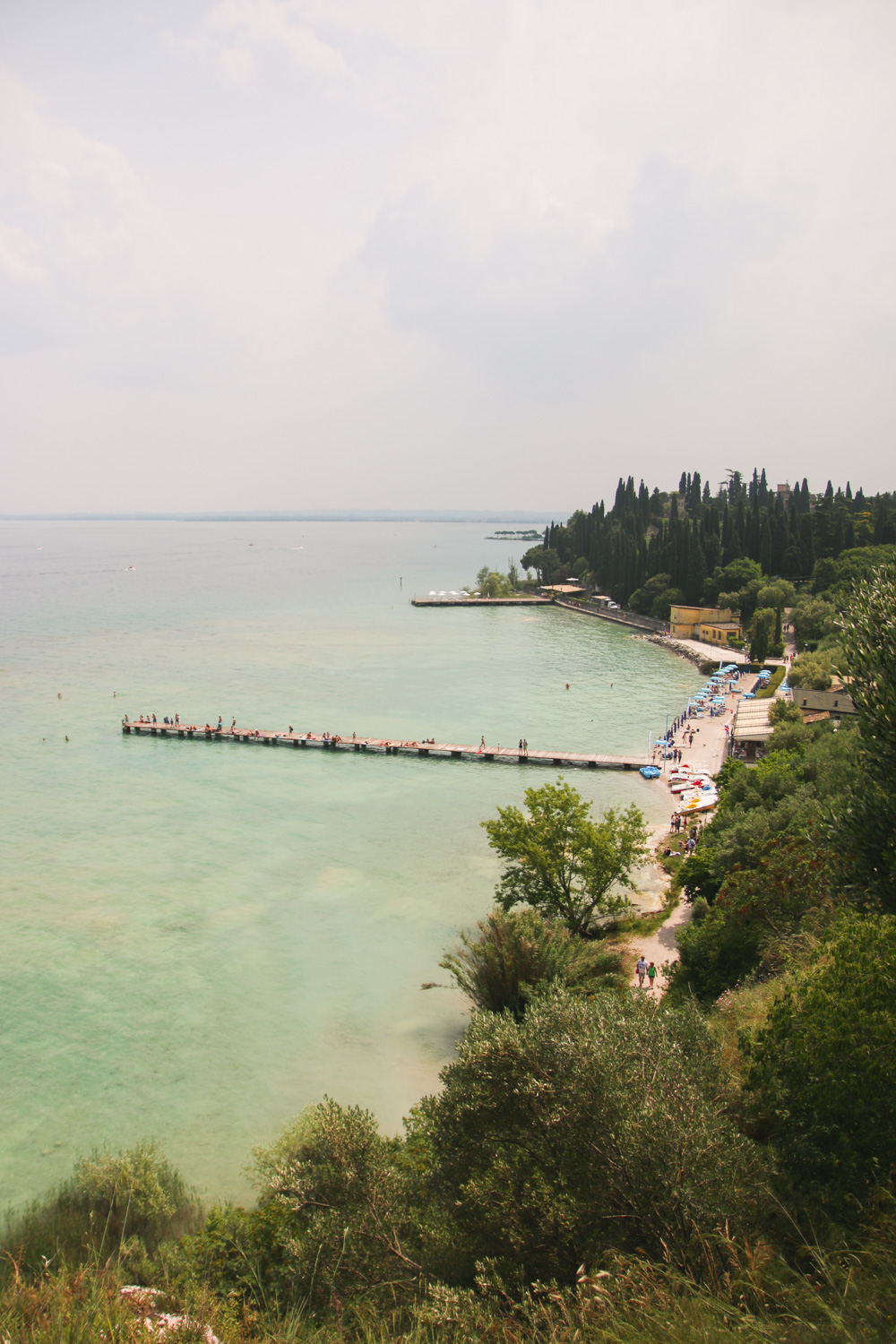Beaches in Sirmione, Lake Garda
