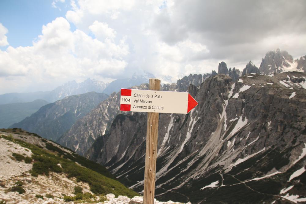 Tre Cime di Lavaredo in The Dolomites