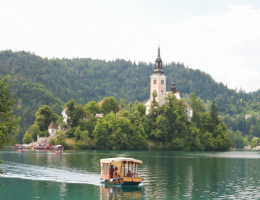 Lake Bled Pletna Boats