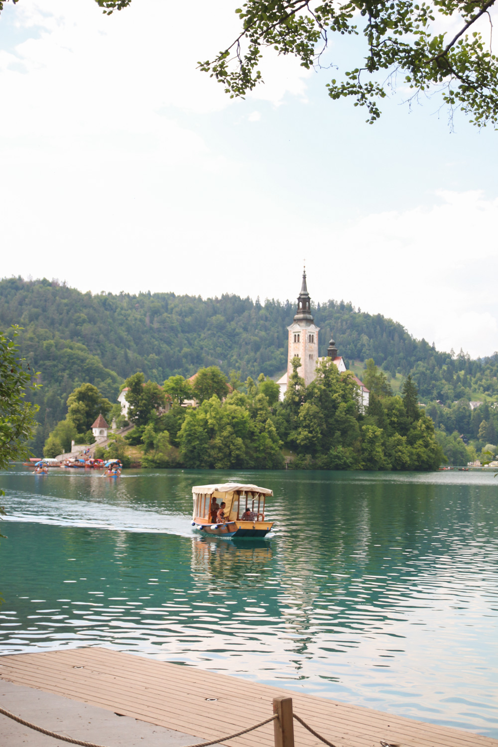 Lake Bled Pletna Boats