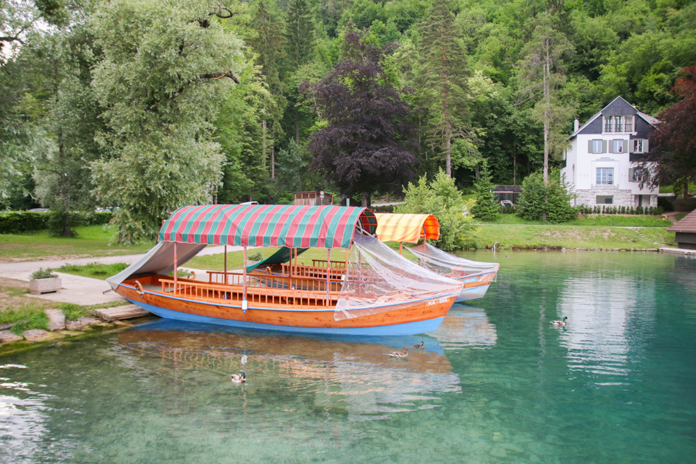 Lake Bled Pletna Boat