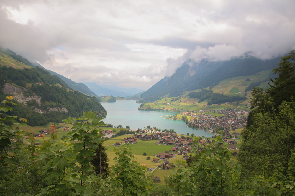 Lake Lungern Switzerland
