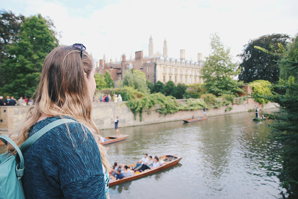 Cambridge Punt Watching