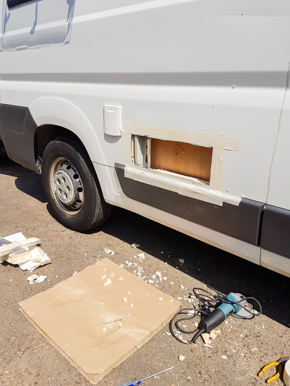 Van Conversion Fridge