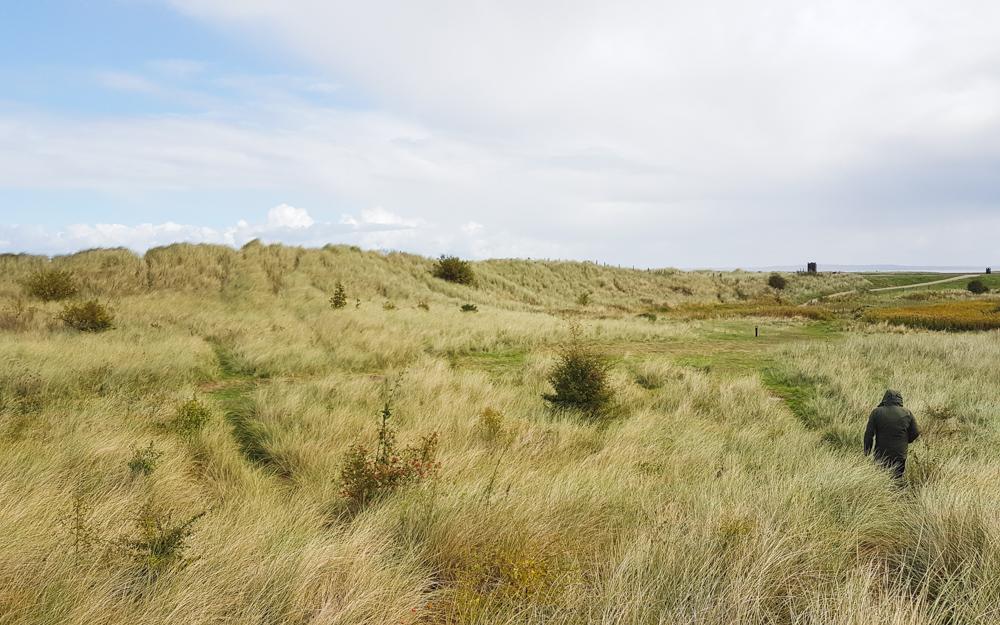 Point of Ayr at Talacre, North Wales
