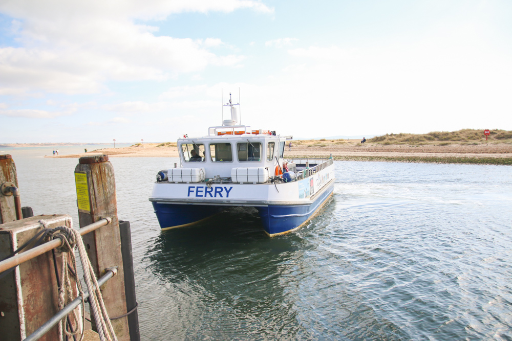 Mudeford Beach Ferry, Dorset